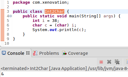 dataConversion-int-to-char